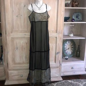 Sue Wong Dresses - Sue Wong Long Maxi Sheer Dress Woman's Large